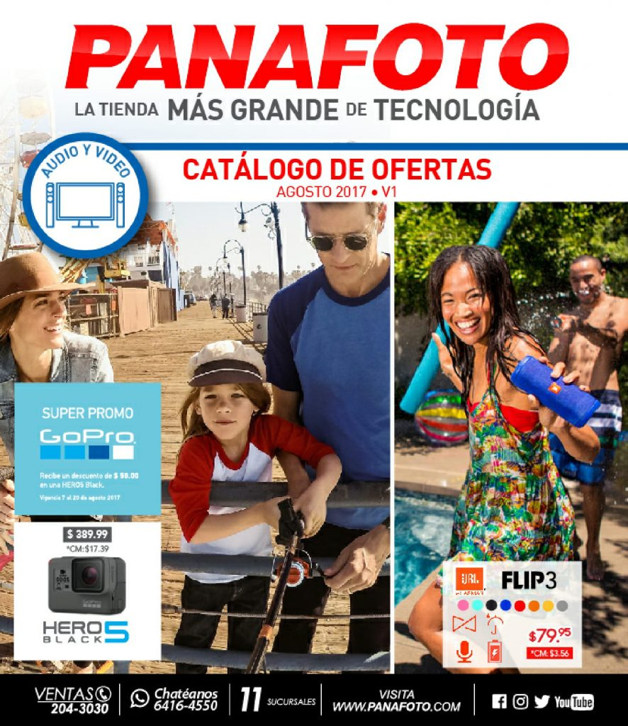 Catalogo panafoto agosto 2017 (audio - video)