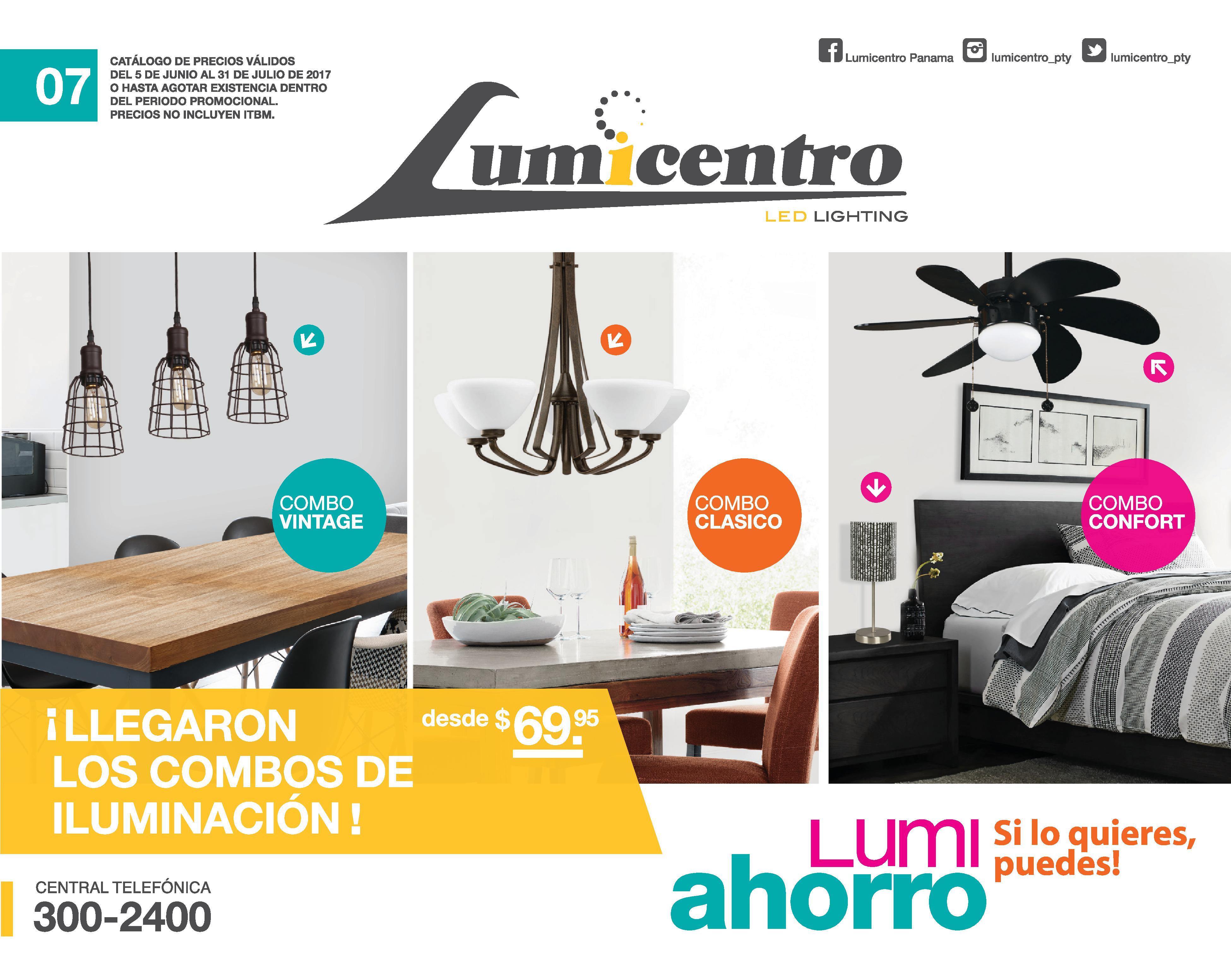 Catálogo lumicentro junio julio 2017
