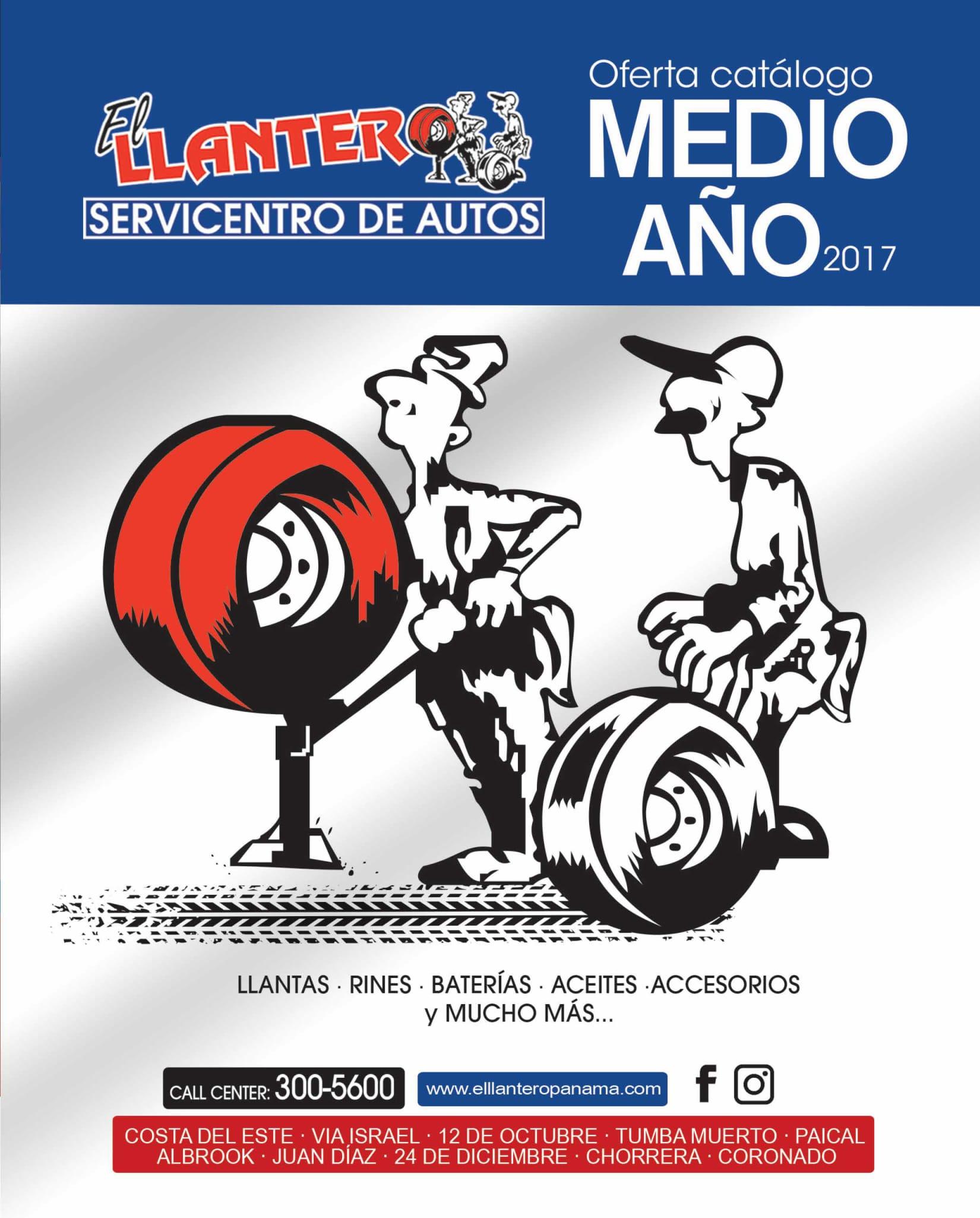 Catalogo el Llantero 2017-p0