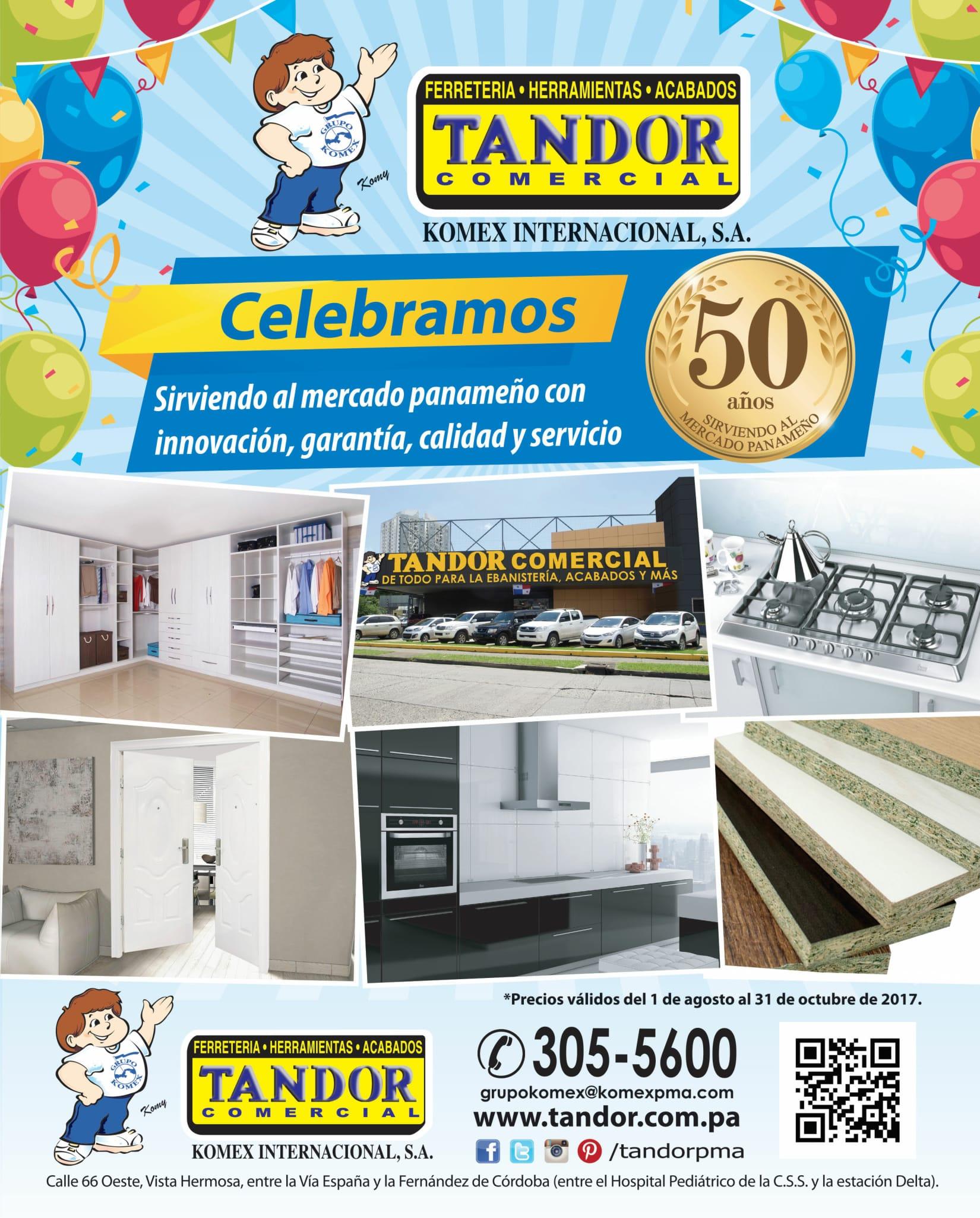 Catalogo Tandor 2017 (agosto octubre)