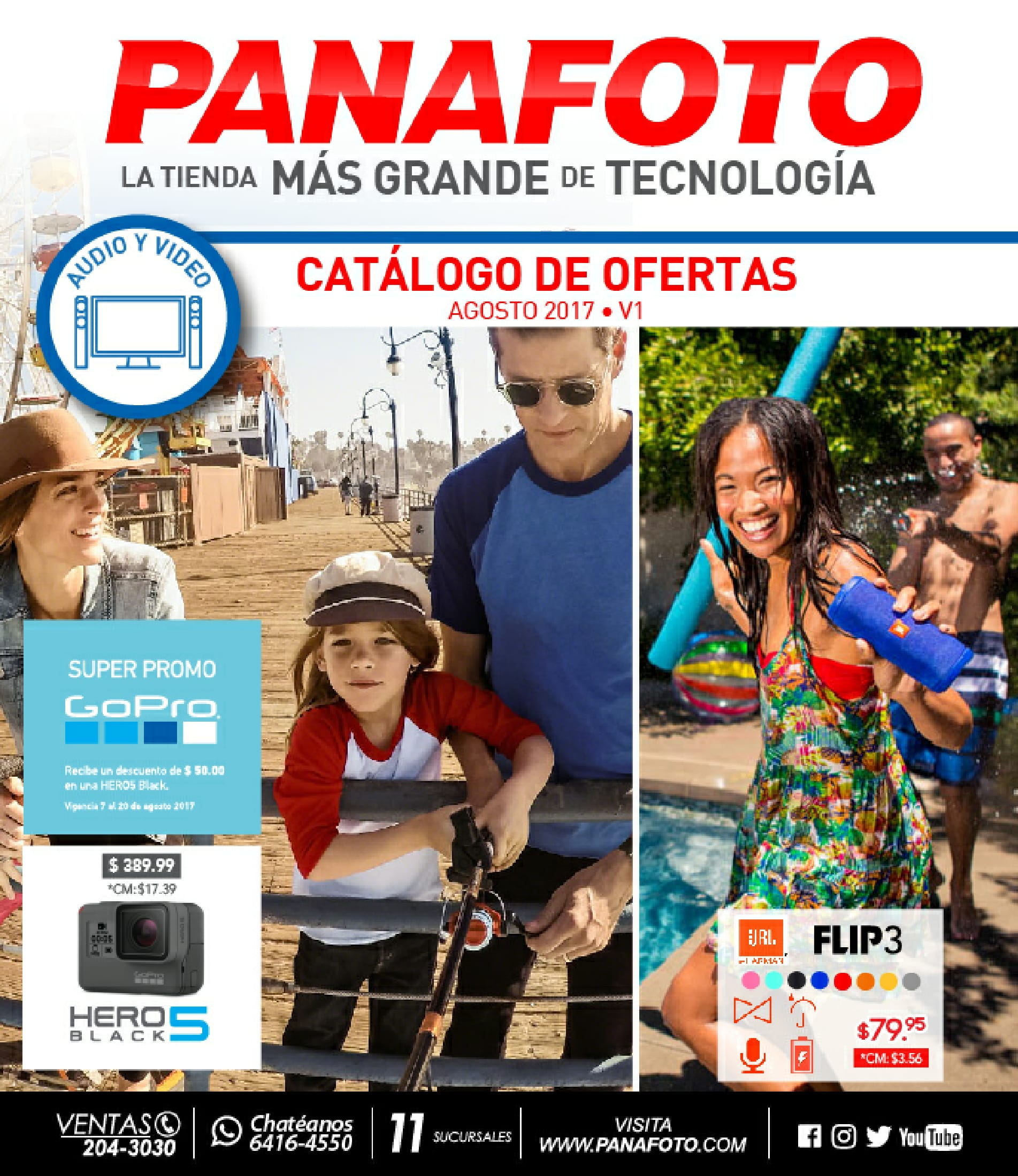 Catalogo panafoto agosto 2017 (audio - video)