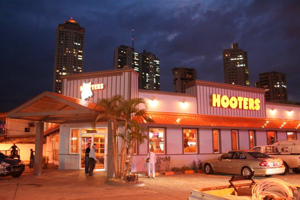 Restaurantes Hooter en Panamá