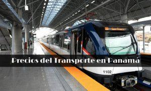 Precios de transporte y servicios en Panamá