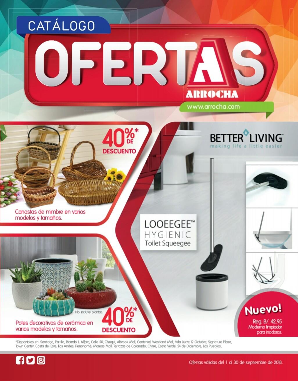 Catalogo de ofertas Arrocha -septiembre 2018 p1