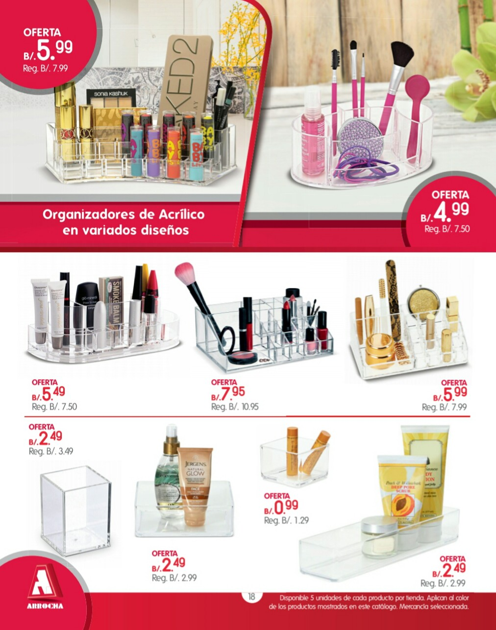 Catalogo de ofertas Arrocha -septiembre 2018 p18