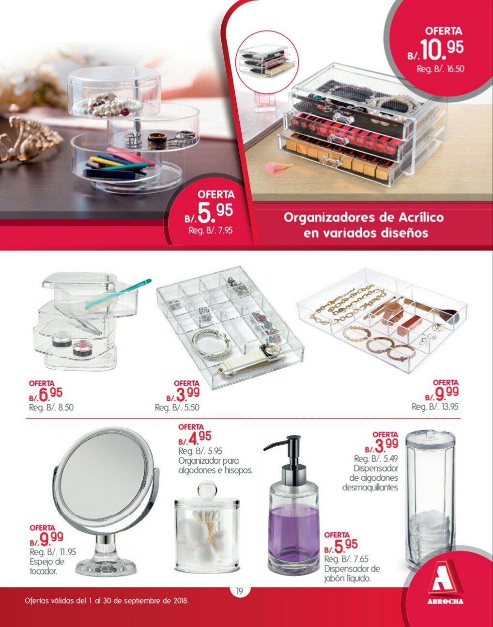 Catalogo de ofertas Arrocha -septiembre 2018 p19
