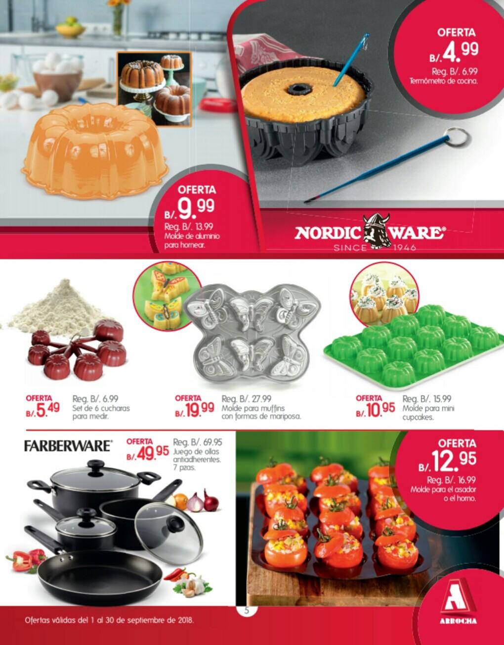 Catalogo de ofertas Arrocha -septiembre 2018 p5