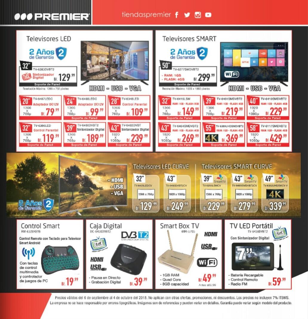 Catalogo de ofertas Premier -septiembre 2018 p2