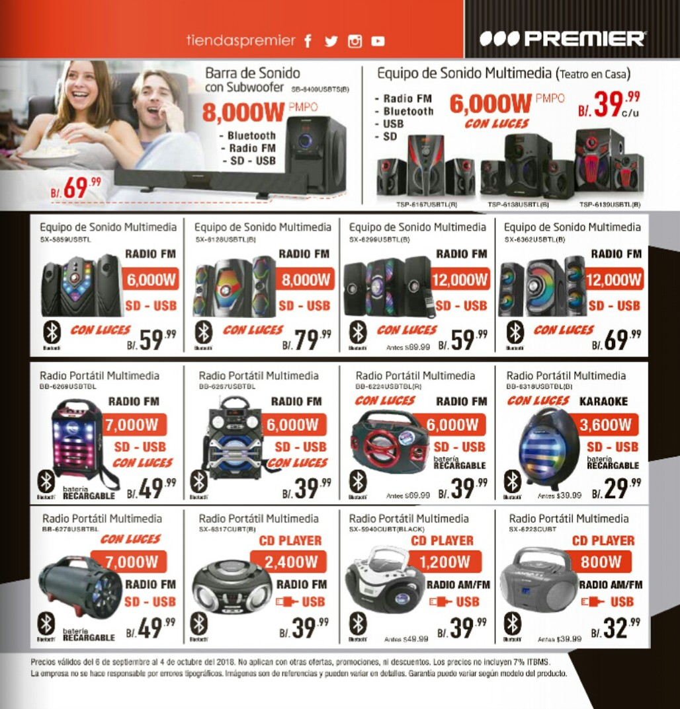 Catalogo de ofertas Premier -septiembre 2018 p3
