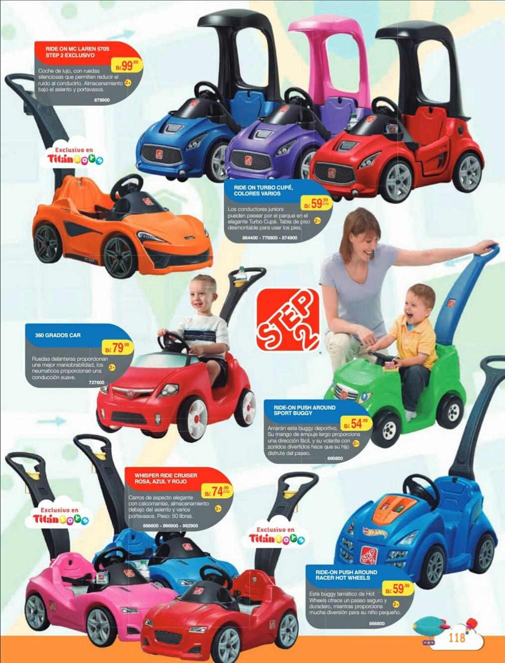 Catalogo juguetes Titan Toys 2018 p120