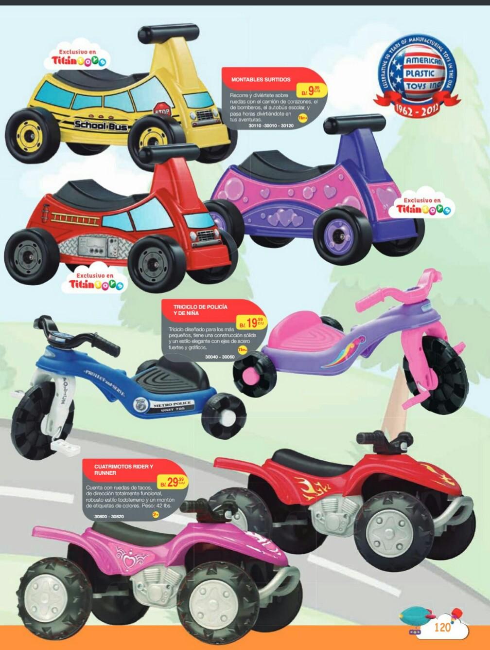 Catalogo juguetes Titan Toys 2018 p122
