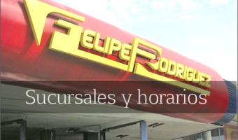 Felipe Rodriguez sucursales
