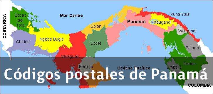 códigos postales