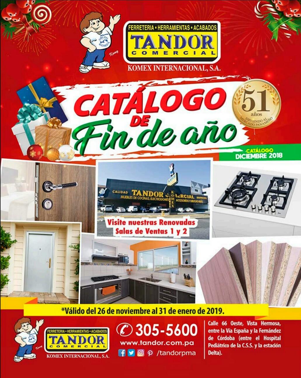 Catalogo Tandor diciembre y enero 2019 p1