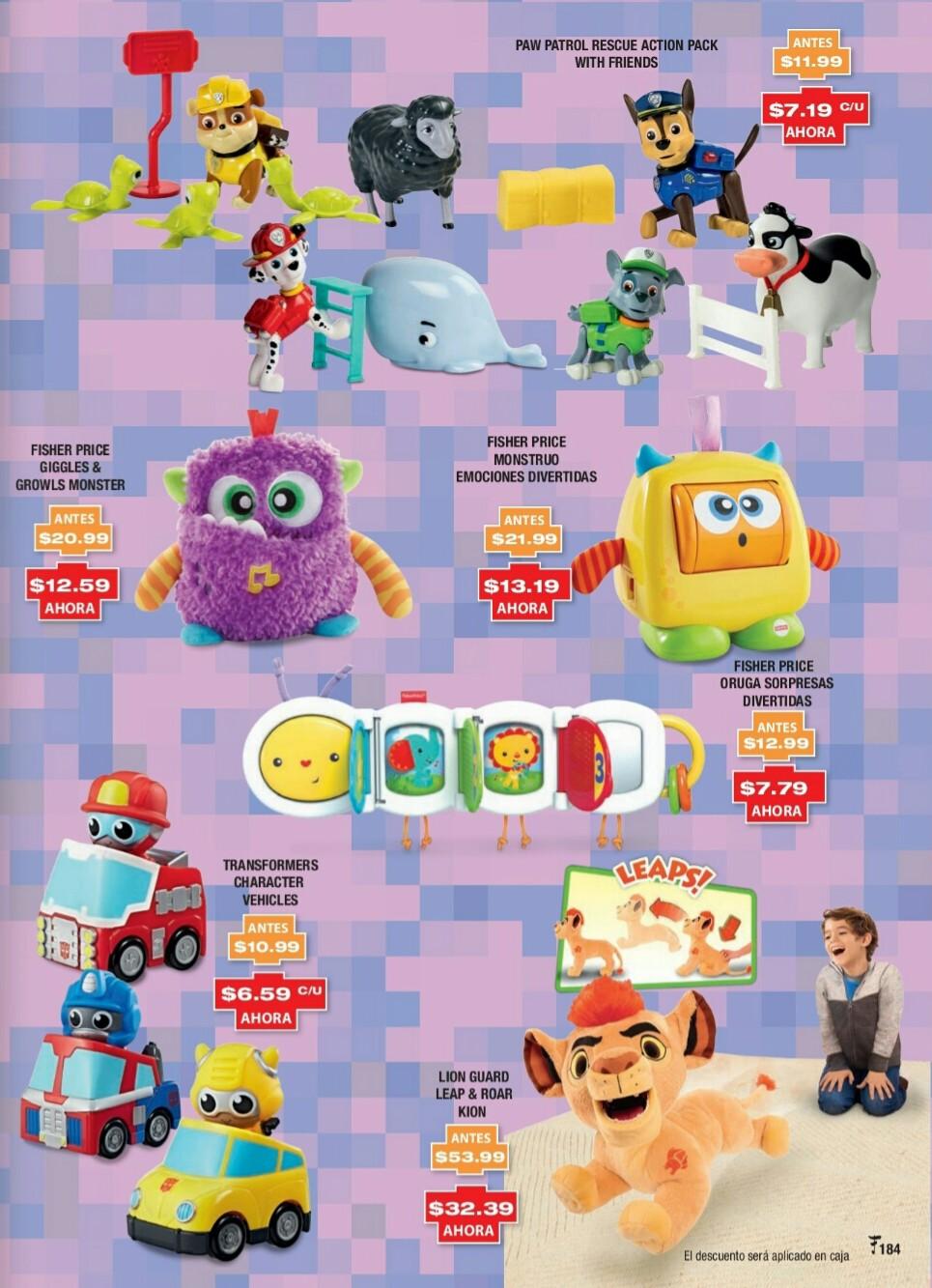 Catalogo juguetes Felix B Maduro 2018 p184