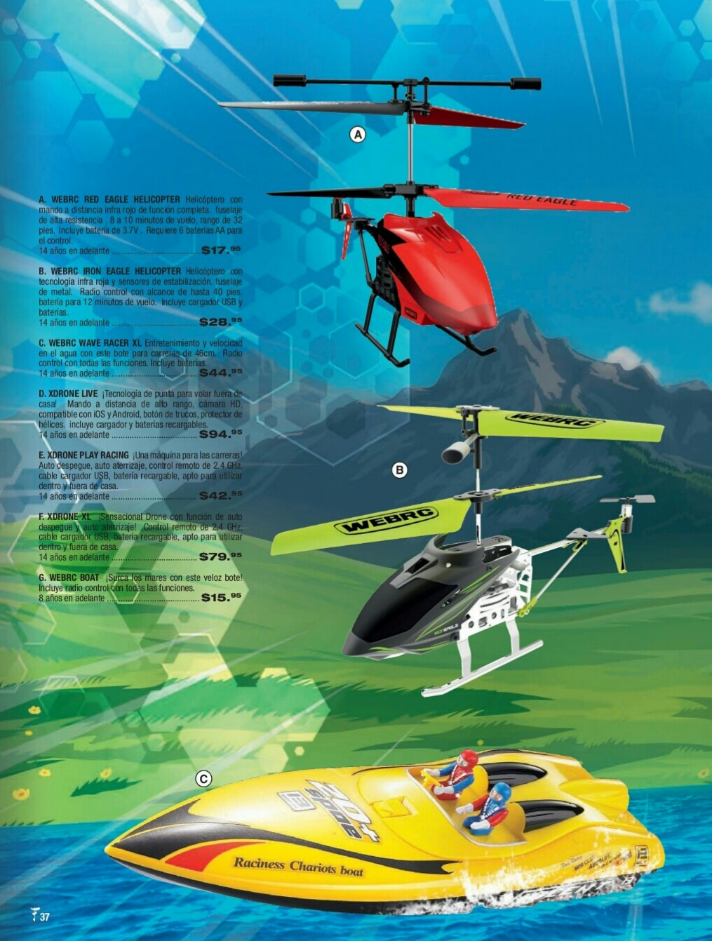 Catalogo juguetes Felix B Maduro 2018 p37