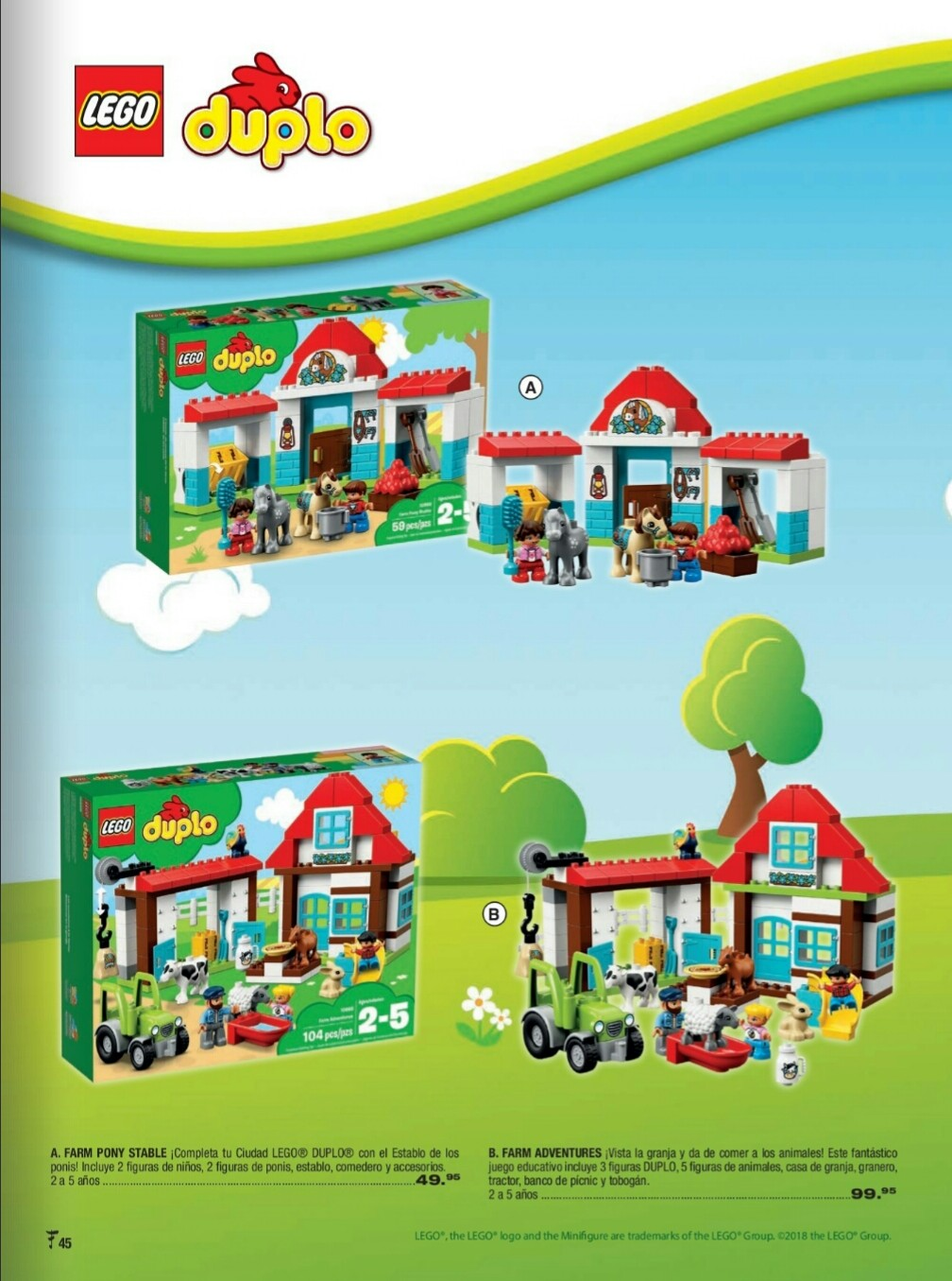 Catalogo juguetes Felix B Maduro 2018 p45