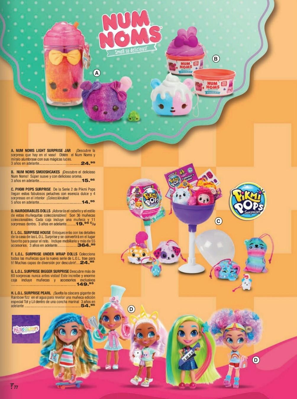 Catalogo juguetes Felix B Maduro 2018 p77