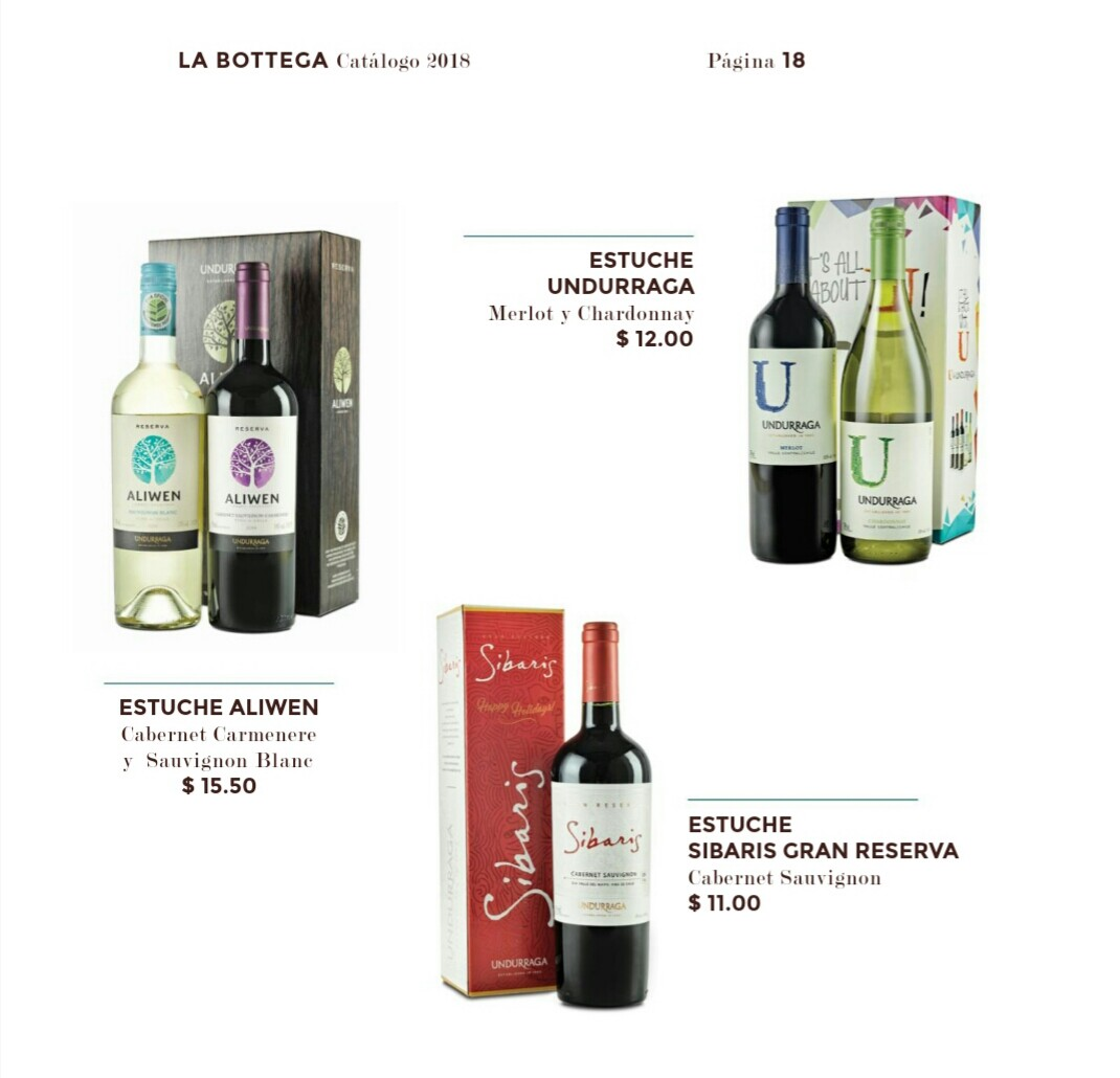 Catalogo Bottega Varela hermanos 2018 p19