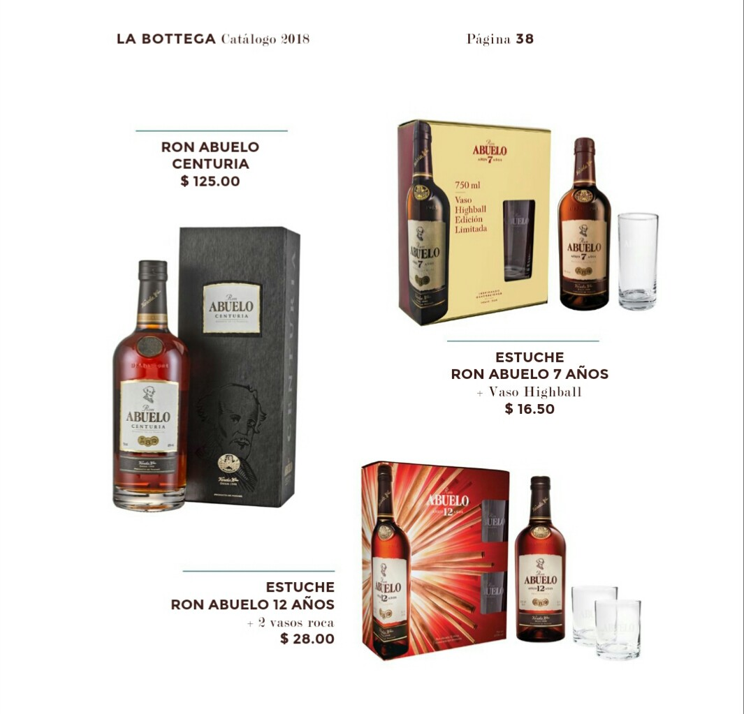 Catalogo Bottega Varela hermanos 2018 p39