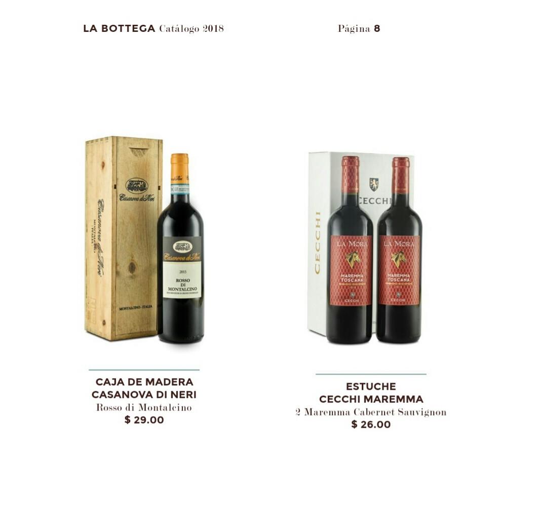 Catalogo Bottega Varela hermanos 2018 p8