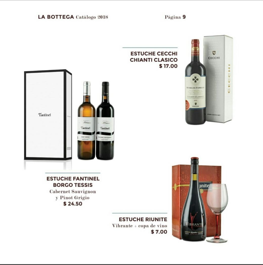 Catalogo Bottega Varela hermanos 2018 p9