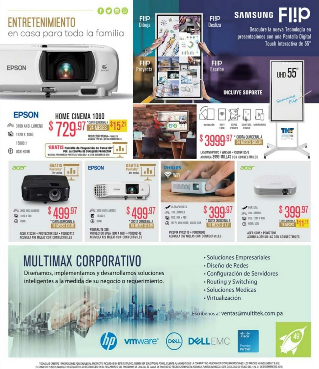 Catalogo Multimax diciembre 2018 p48