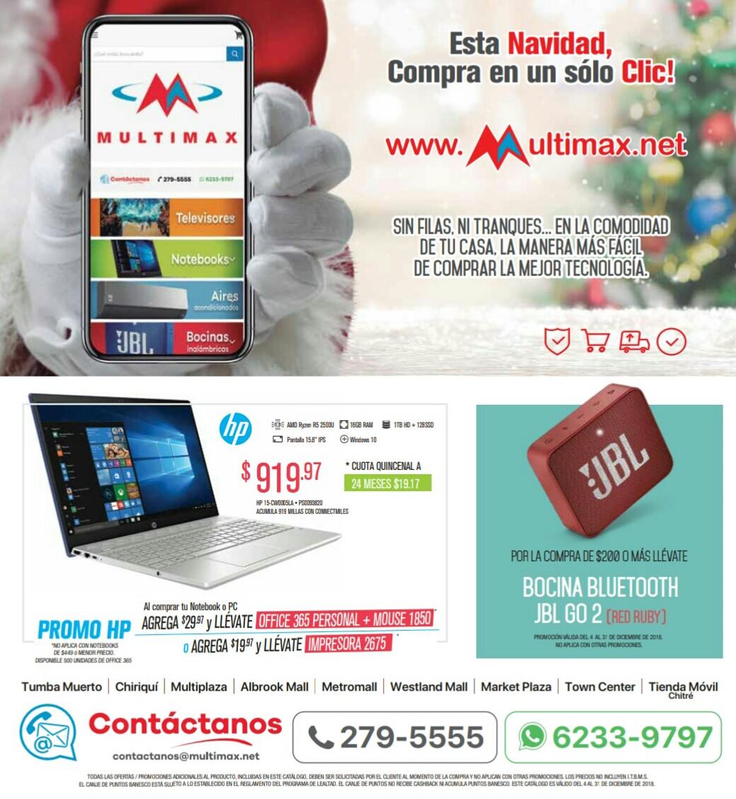 Catalogo Multimax diciembre 2018 p71