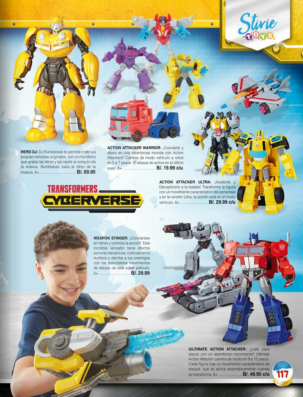 Catalogo juguetes Stivie toys 2018 p117