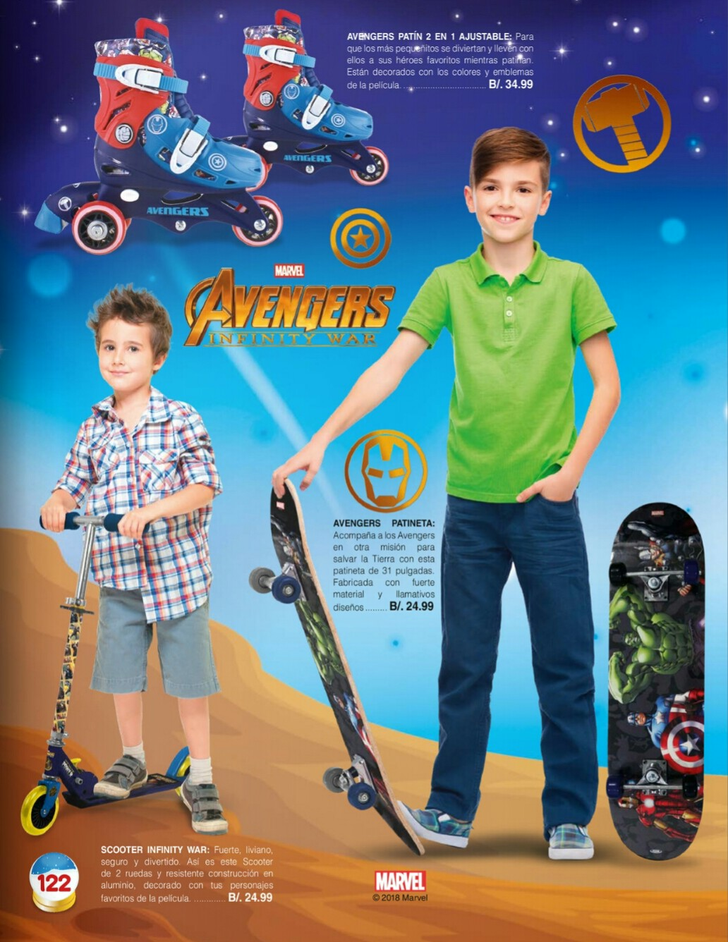 Catalogo juguetes Stivie toys 2018 p122