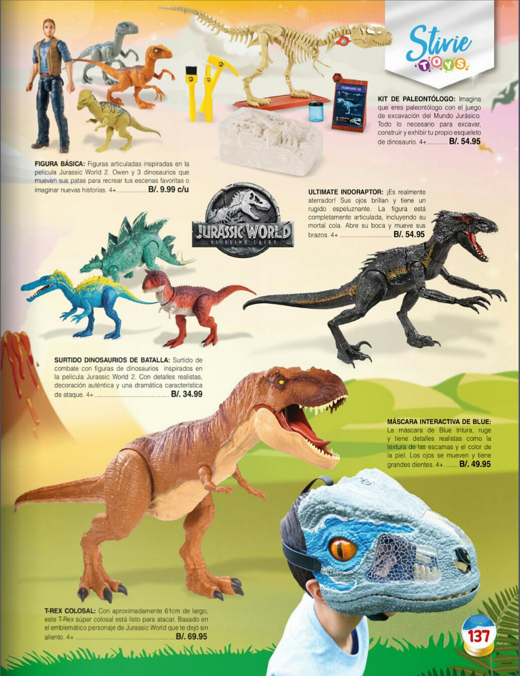 Catalogo juguetes Stivie toys 2018 p137