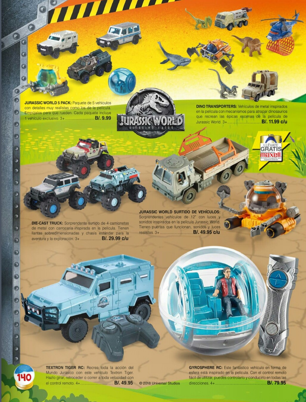 Catalogo juguetes Stivie toys 2018 p140