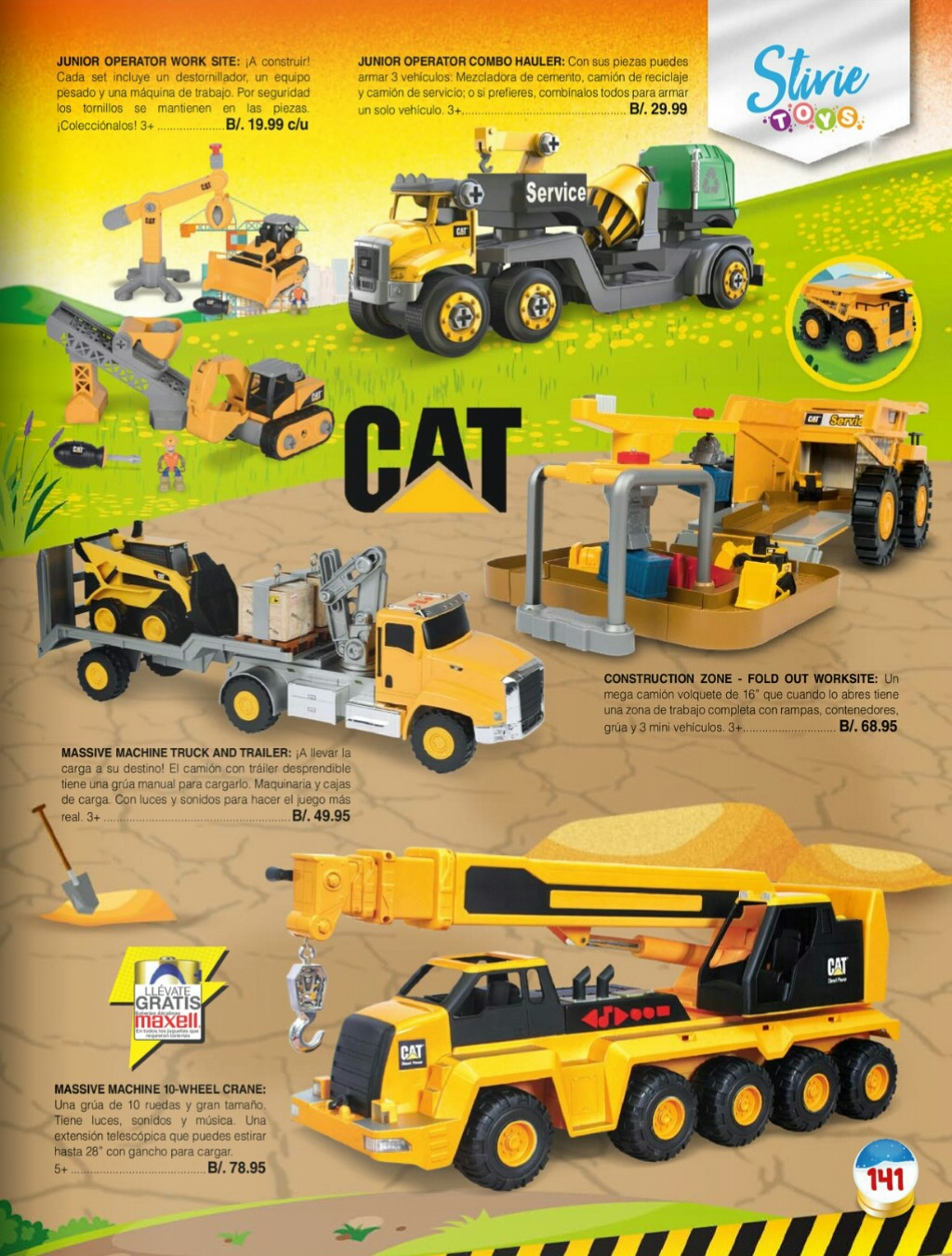 Catalogo juguetes Stivie toys 2018 p141