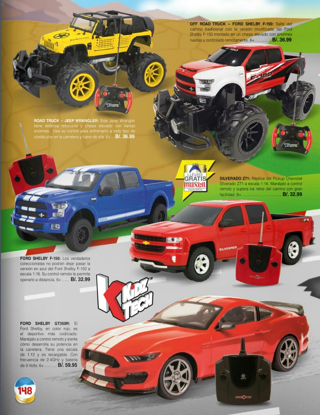 Catalogo juguetes Stivie toys 2018 p148