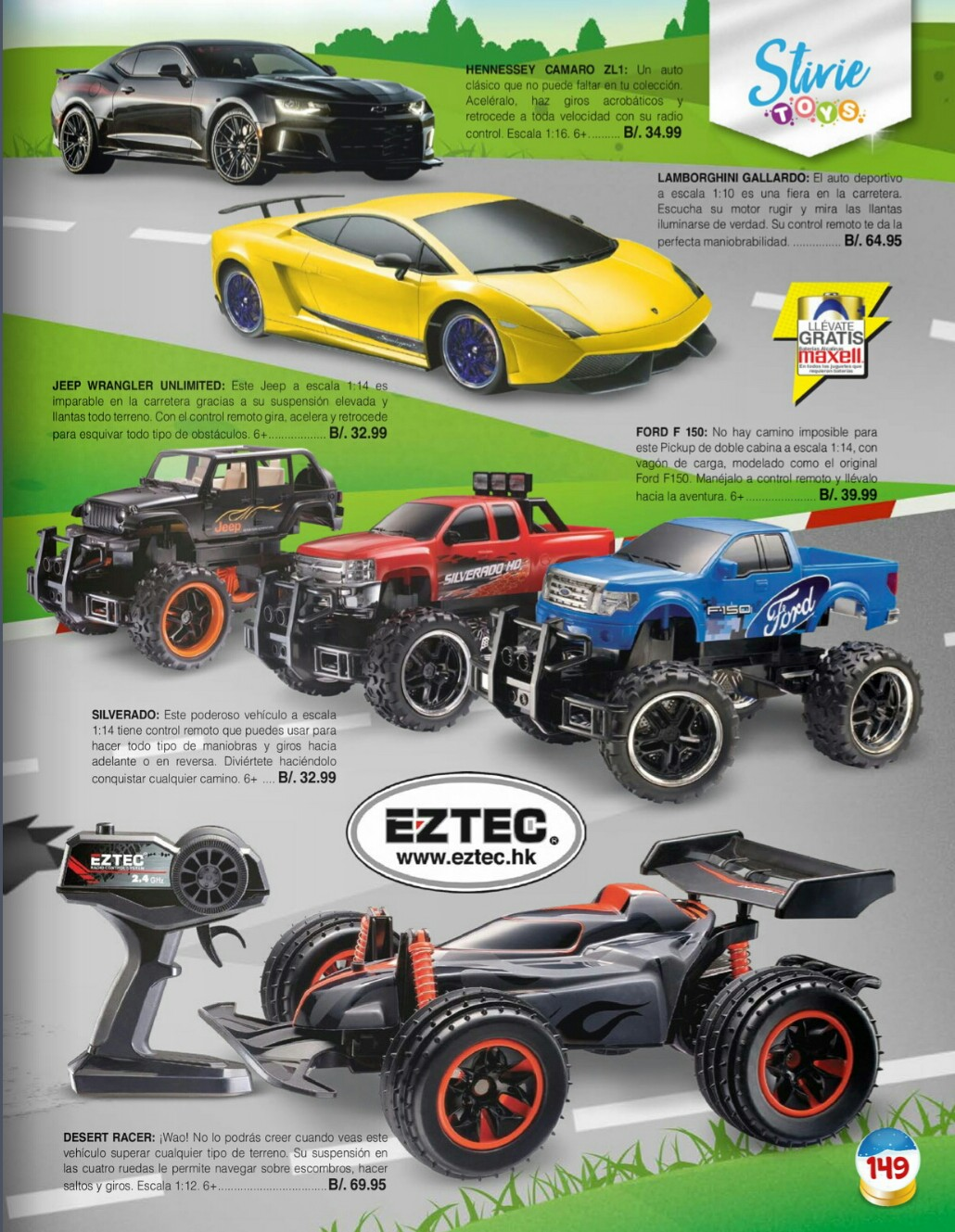 Catalogo juguetes Stivie toys 2018 p149