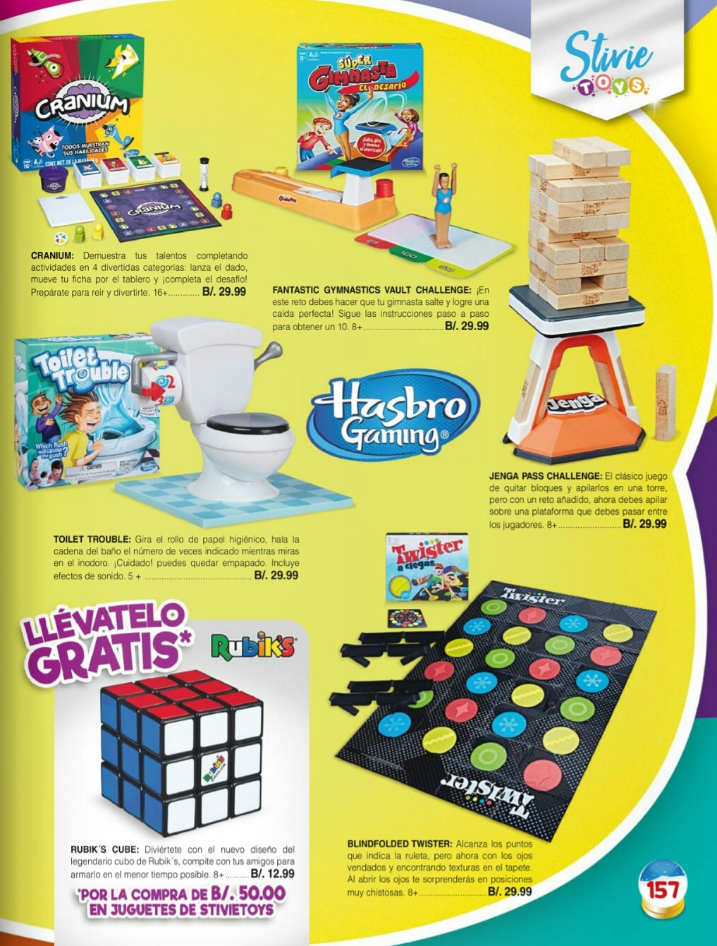 Catalogo juguetes Stivie toys 2018 p157