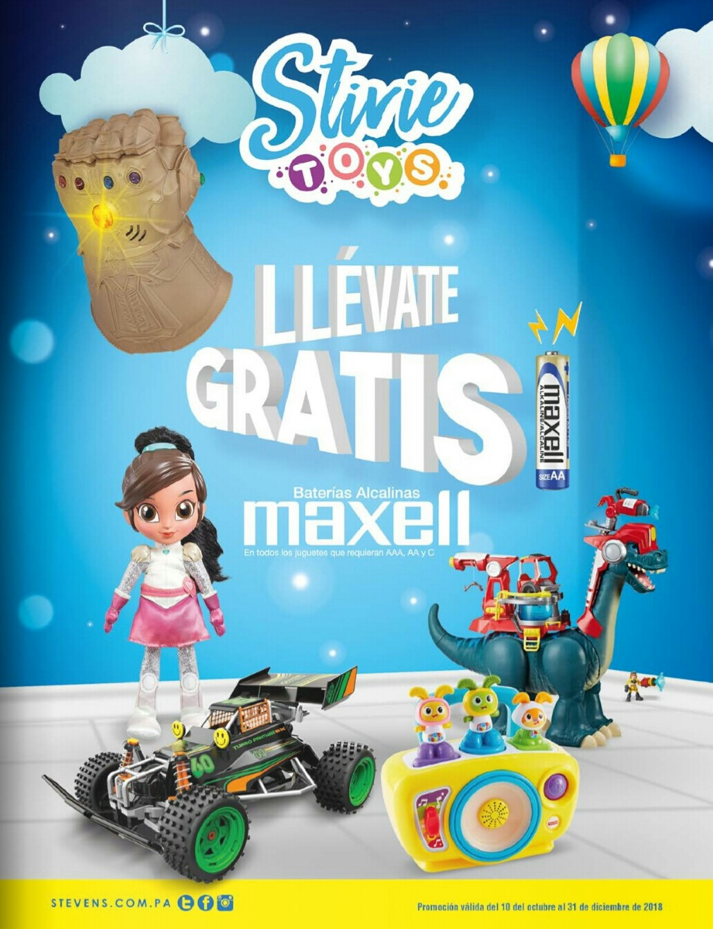 Catalogo juguetes Stivie toys 2018 p165
