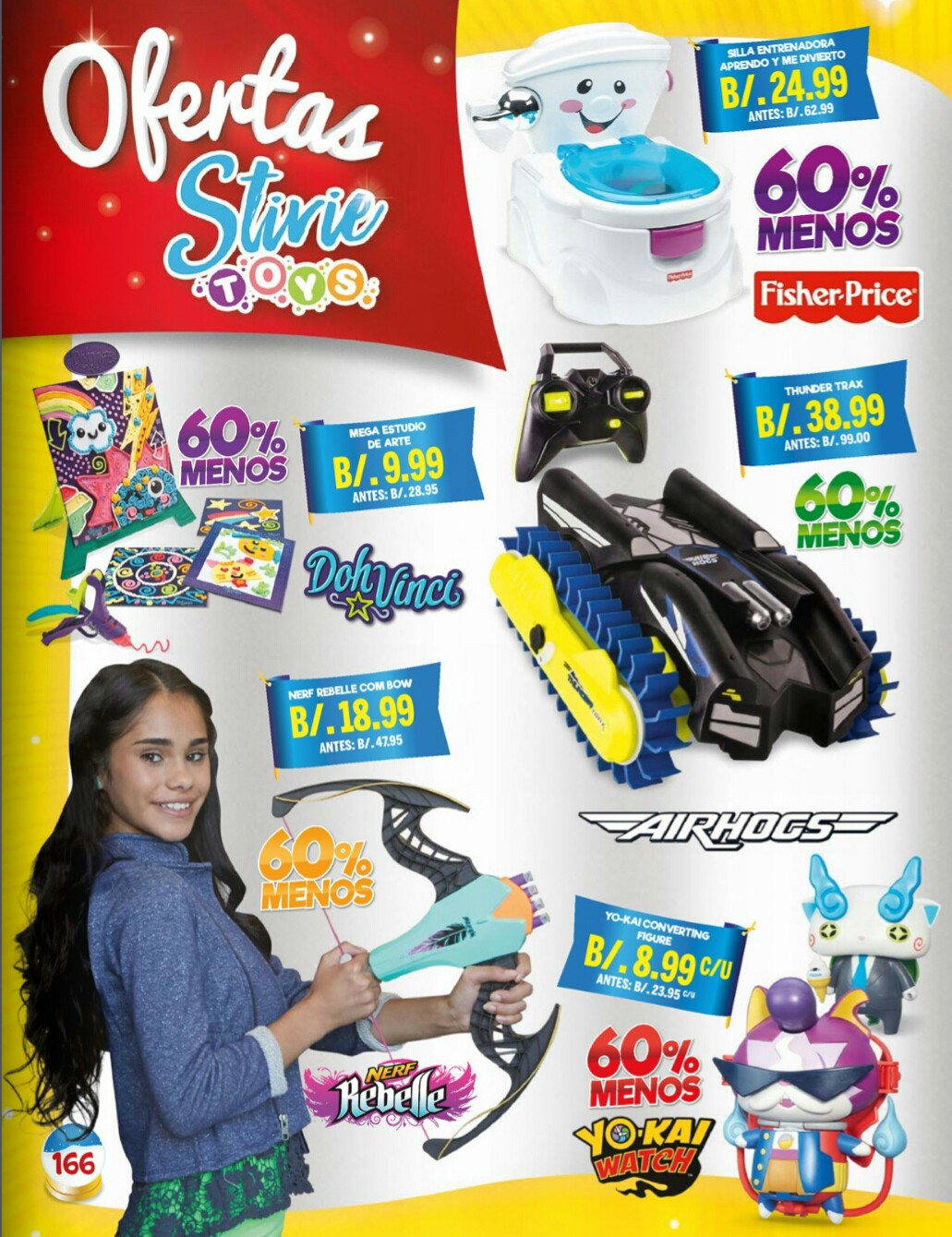 Catalogo juguetes Stivie toys 2018 p166