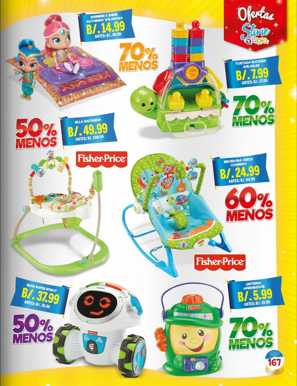 Catalogo juguetes Stivie toys 2018 p167