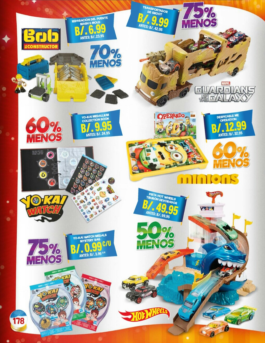 Catalogo juguetes Stivie toys 2018 p178