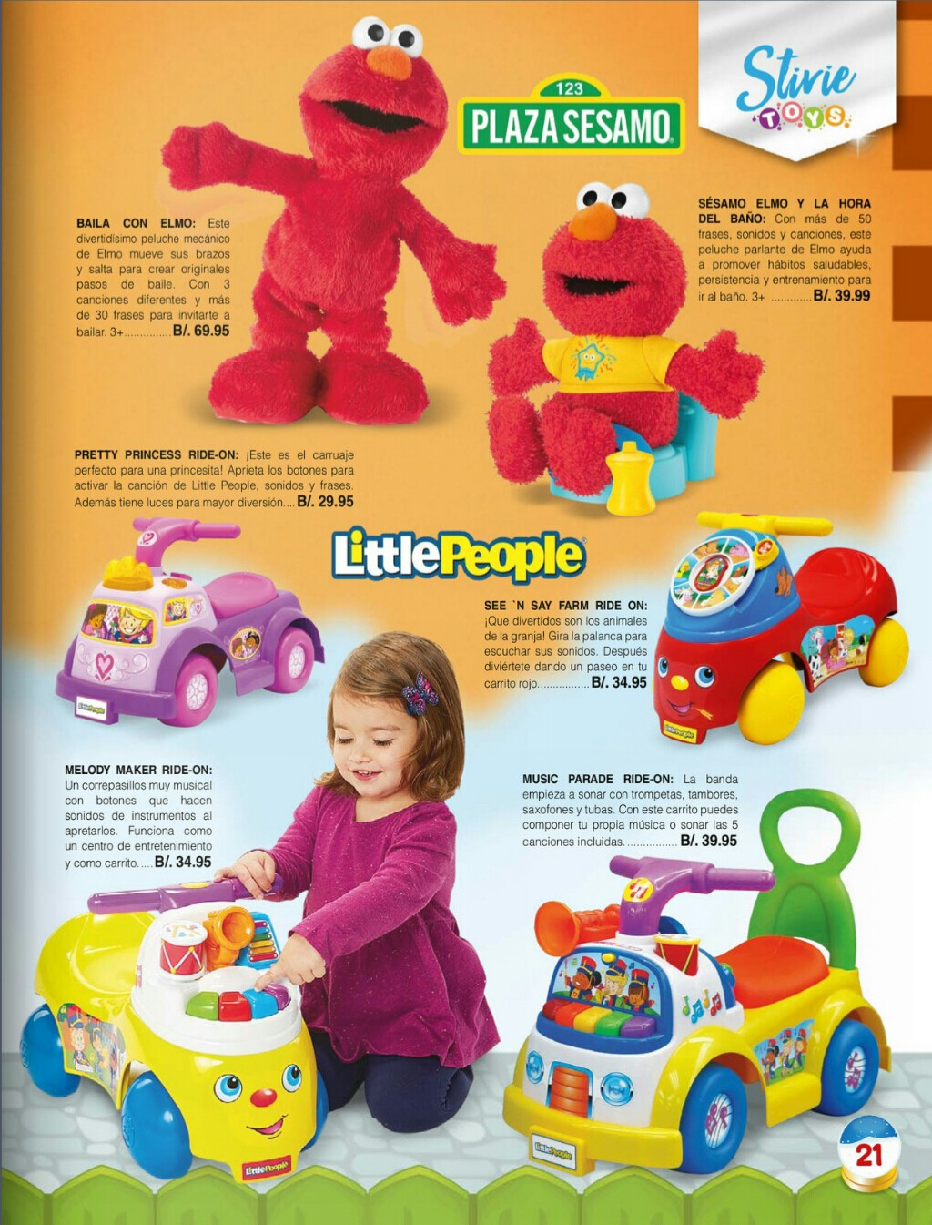 Catalogo juguetes Stivie toys 2018 p21