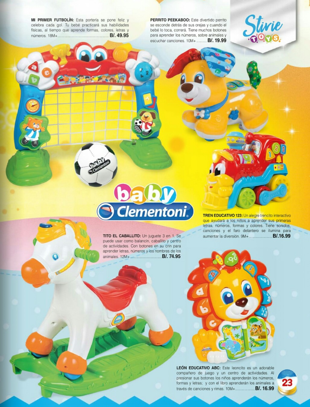 Catalogo juguetes Stivie toys 2018 p23