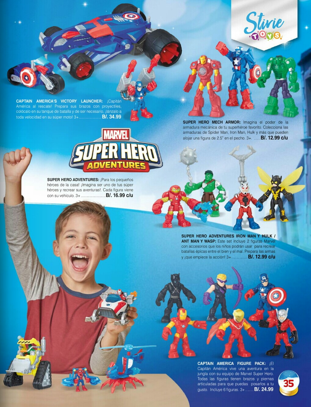 Catalogo juguetes Stivie toys 2018 p35