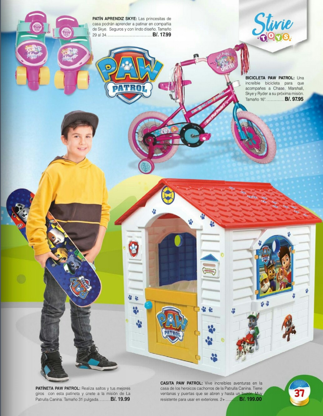 Catalogo juguetes Stivie toys 2018 p37