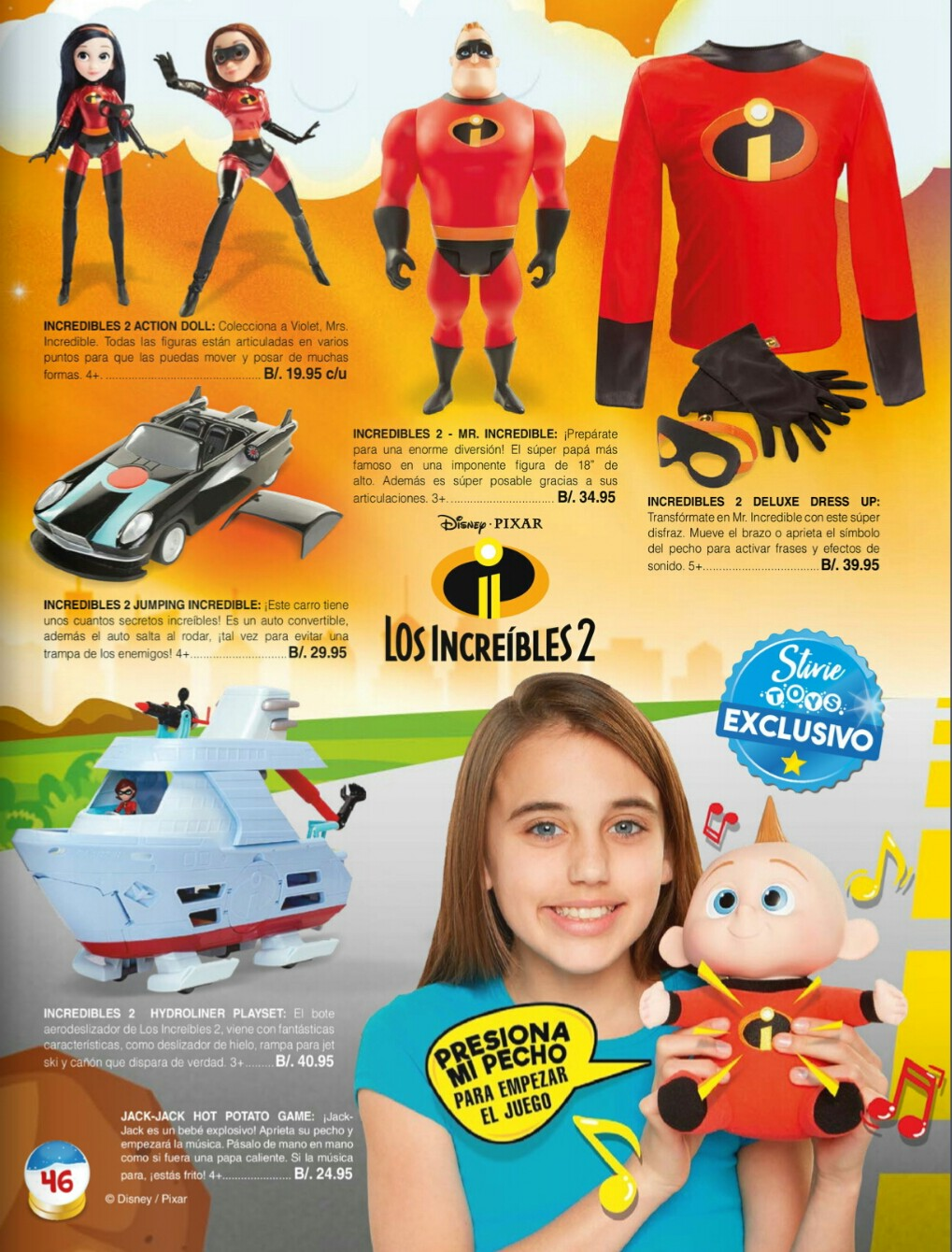 Catalogo juguetes Stivie toys 2018 p46