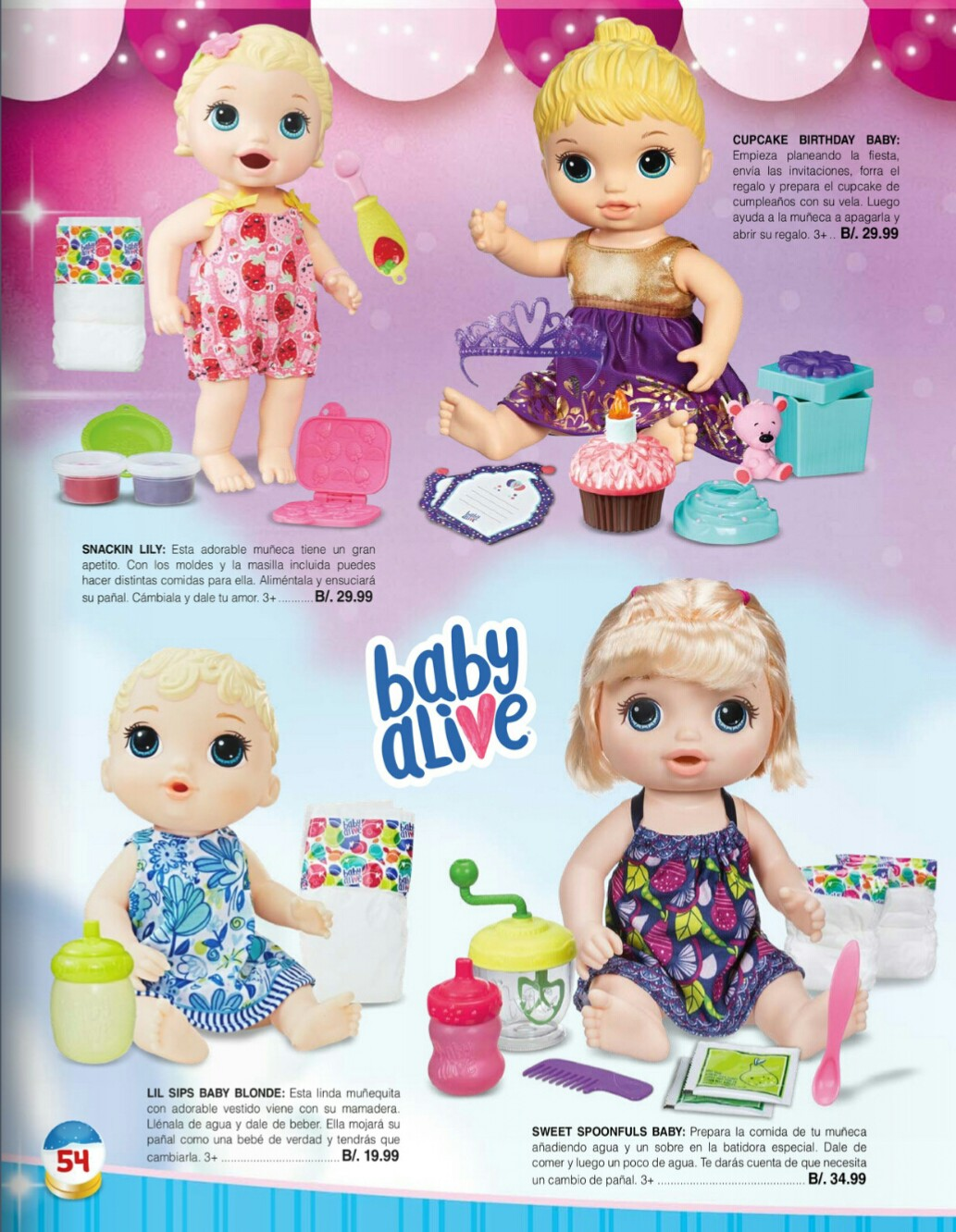 Catalogo juguetes Stivie toys 2018 p54