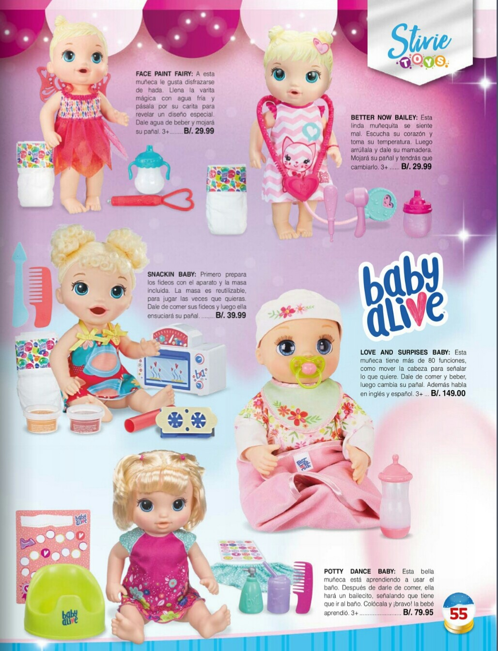 Catalogo juguetes Stivie toys 2018 p55