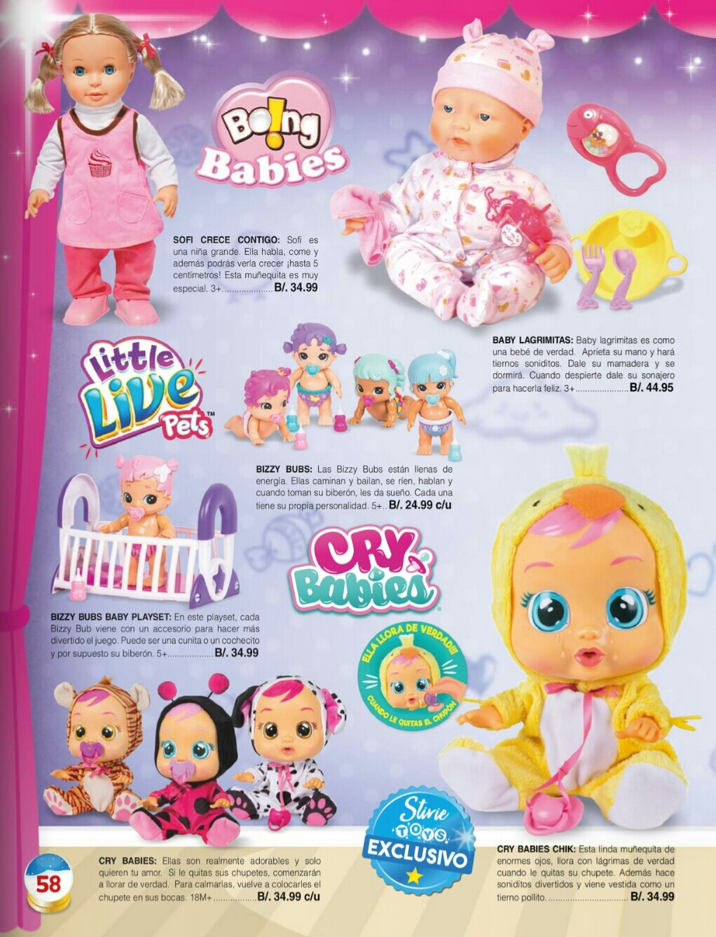 Catalogo juguetes Stivie toys 2018 p58