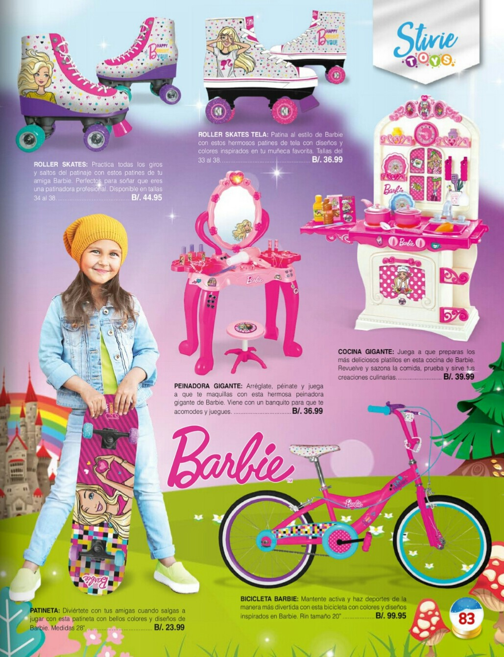 Catalogo juguetes Stivie toys 2018 p83