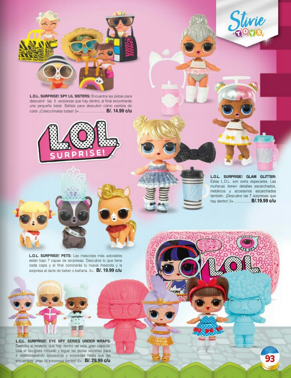 Catalogo juguetes Stivie toys 2018 p93